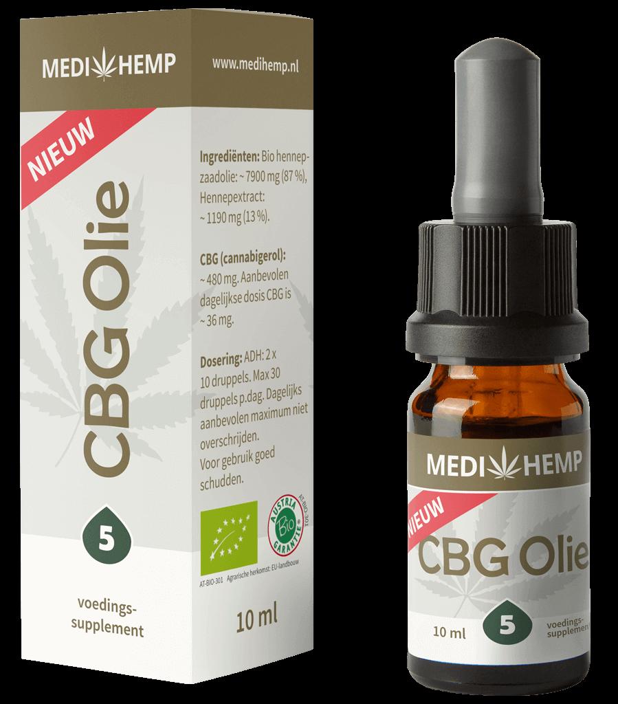 CBG Olie 5% 10ml (Medihemp)
