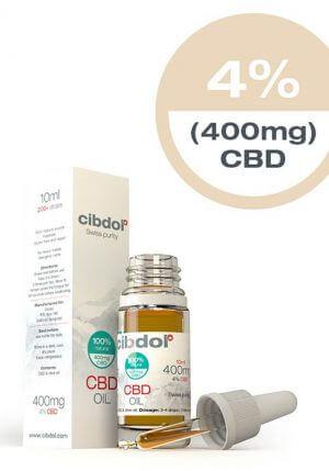 Cibdol CBD Olie 10ml 4% CBD