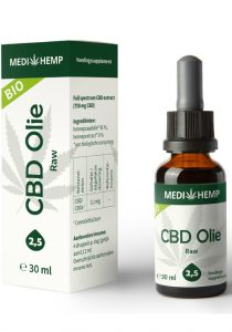 cbd oil 25 30ml medihemp raw