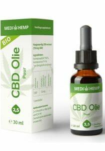 cbd oil pure 25 30ml medihemp