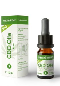 cbd oil pure 5 10ml medihemp