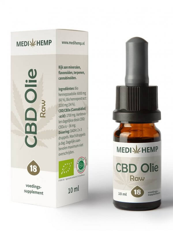 CBD Olie 18% 10ml