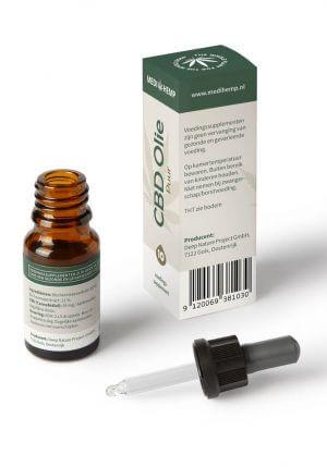 Biologische CBD Olie 10% 10ml (Medihemp)