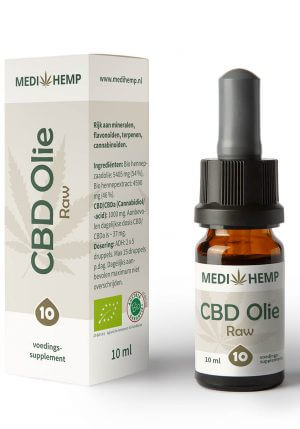 CBD Olie 10% 10ml (Medihemp) Raw