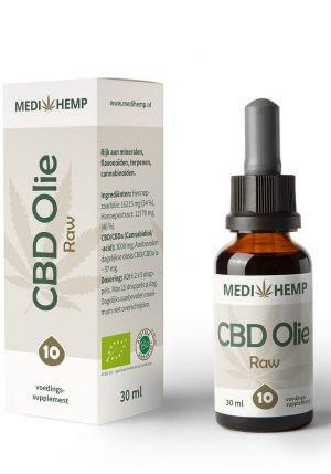 CBD Olie 10% 30ml (Medihemp) Raw